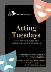Theatre plays from Acting Tuesdays at Act Attack