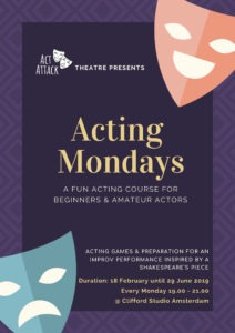 Theatre plays from Acting Mondays at Act Attack
