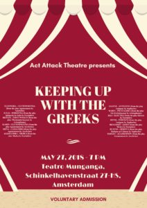 Theatre plays at Act Attack